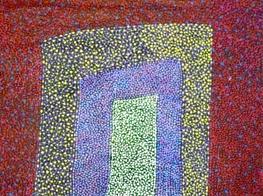 Josie Petrick Kemarre's artwork (Australia)