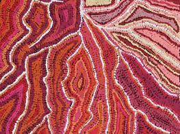 Maggie Napaljarri Ross's artwork (Australia)