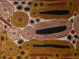 Ningura Napurrula's artwork (Australia)