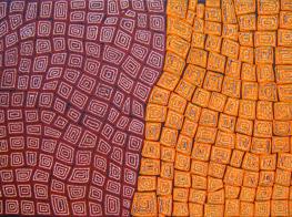 Thomas Tjapaltjarri's artwork (Australia)