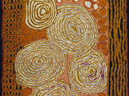 Walangkura Napanangka's artwork (Australia)