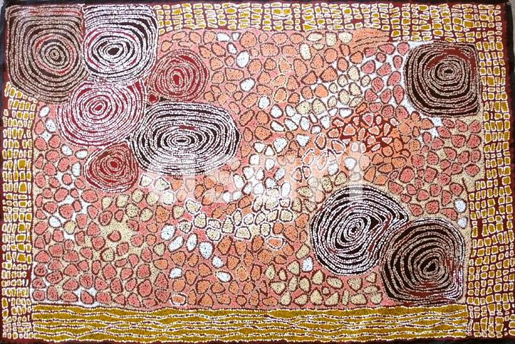 Women's Ceremony Dreaming, by Aboriginal artist Walangkura Napanangka (Australia)