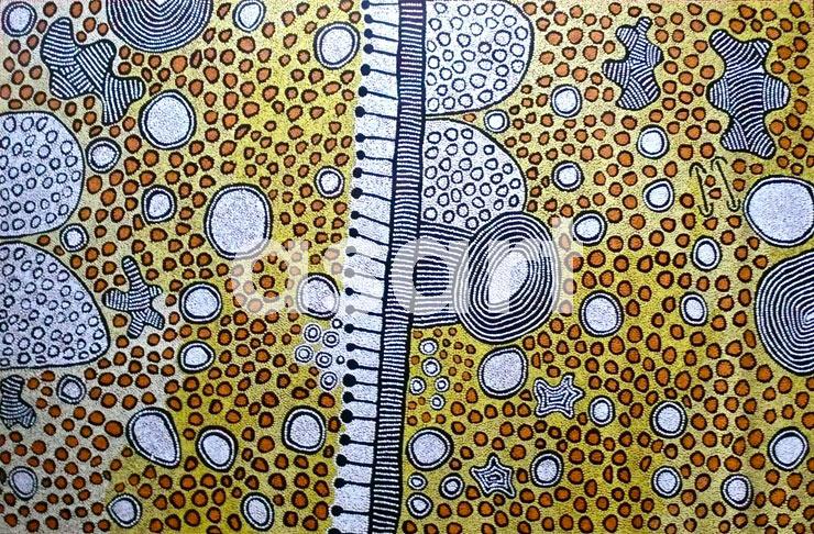 Women's Dreaming, by Aboriginal artist Yinarupa Nangala (Australia)