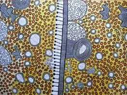 Yinarupa Nangala's artwork (Australia)