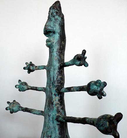 Happy Man by Asian artist Gwyn Faenol (Thailand/Wales)