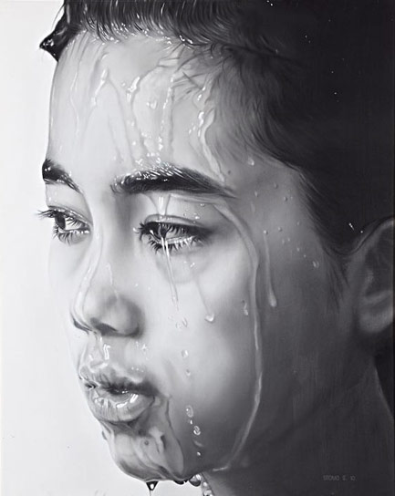 After Shower by Asian artist Utomo S (Indonesia)