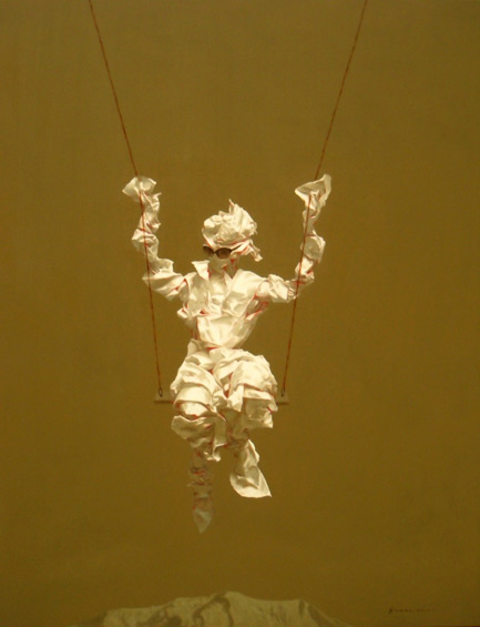 Edge of Reason no. 41 by Asian artist Simao (Tse Mao) Huang (China)