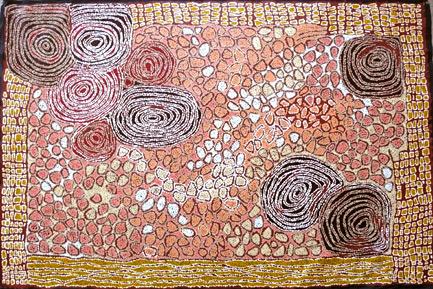 Women's Ceremony Dreaming by Aboriginal artist Walangkura Napanangka