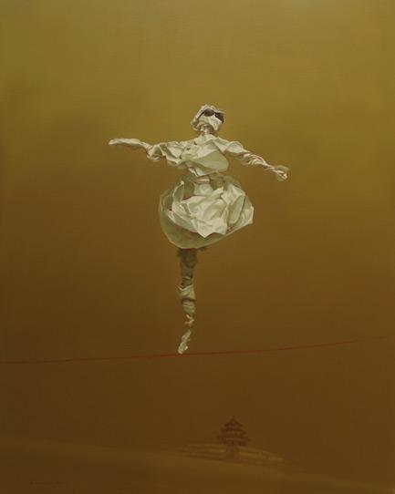 Edge of Reason #22 by Asian artist Simao (Tse Mao) Huang (China)
