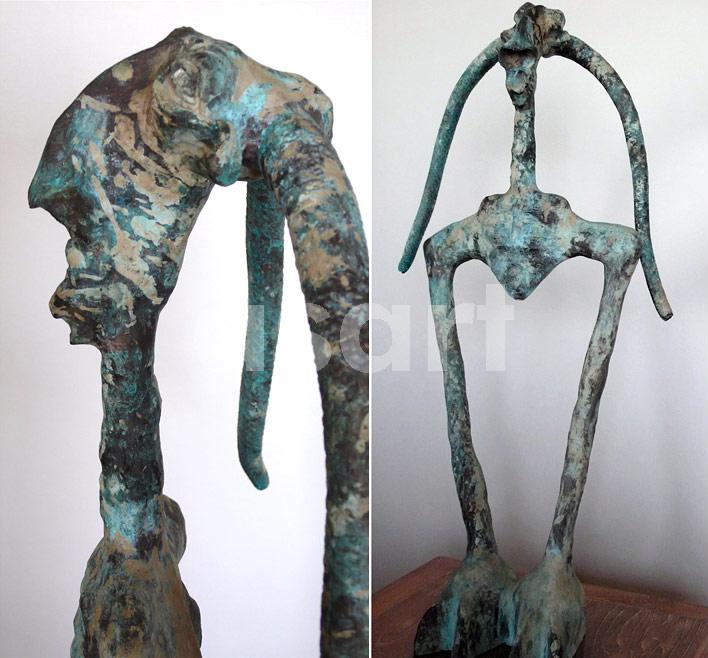 Observer, by Asian artist Gwyn Faenol (Thailand/Wales)
