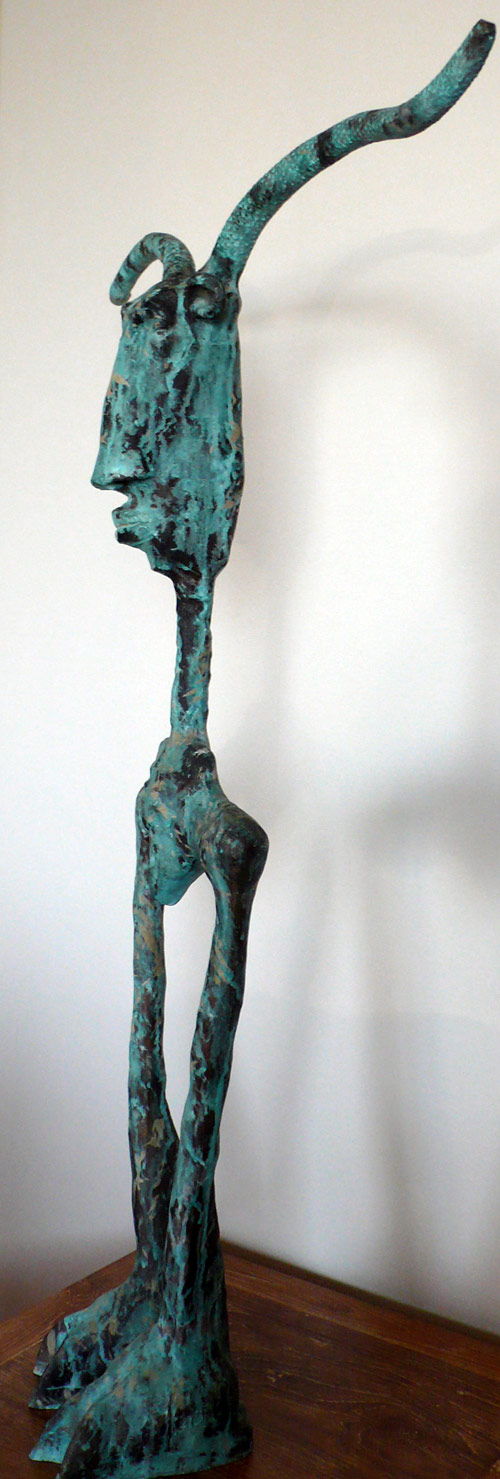 Sentinel, by Asian artist Gwyn Faenol (Thailand/Wales)