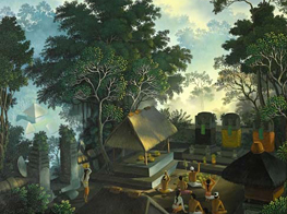 I Gusti Agung Ketut Wiranata's artwork (Indonesia)