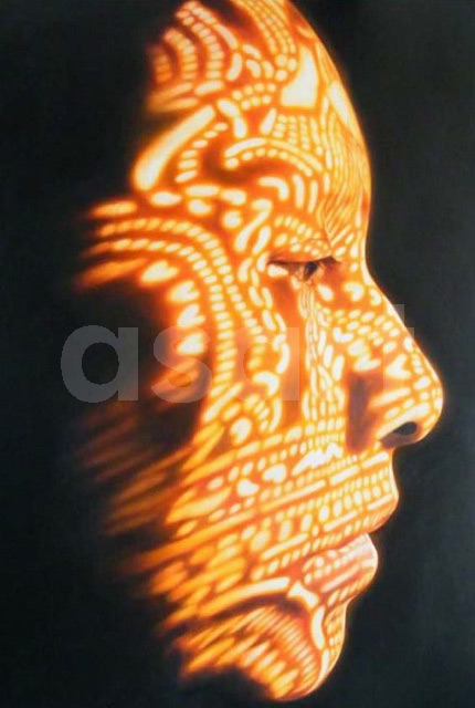 Into the Light, by Asian artist Karuna Panumes (Thailand)
