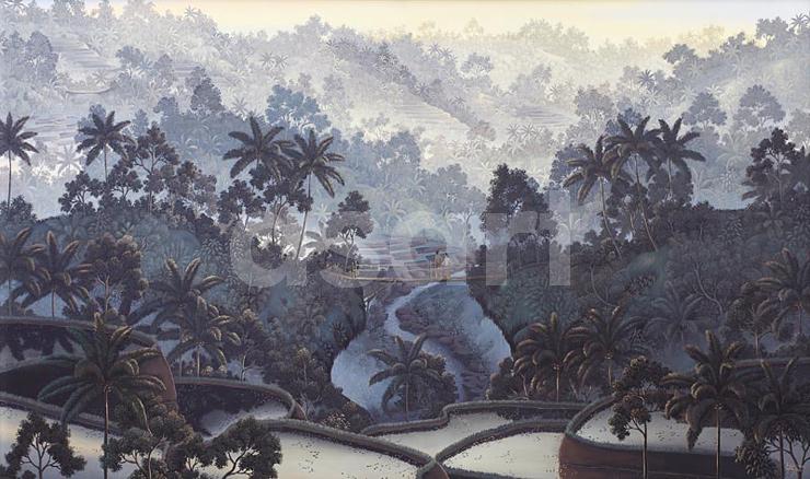 Menikmati Pemandangan, by Asian artist Ni Gusti Agung Galuh (Indonesia)