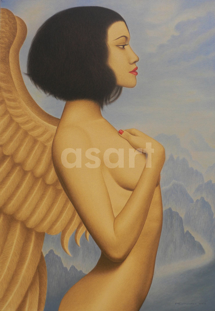 Angel 11, by Asian artist Pairoj Karndee (Thailand)