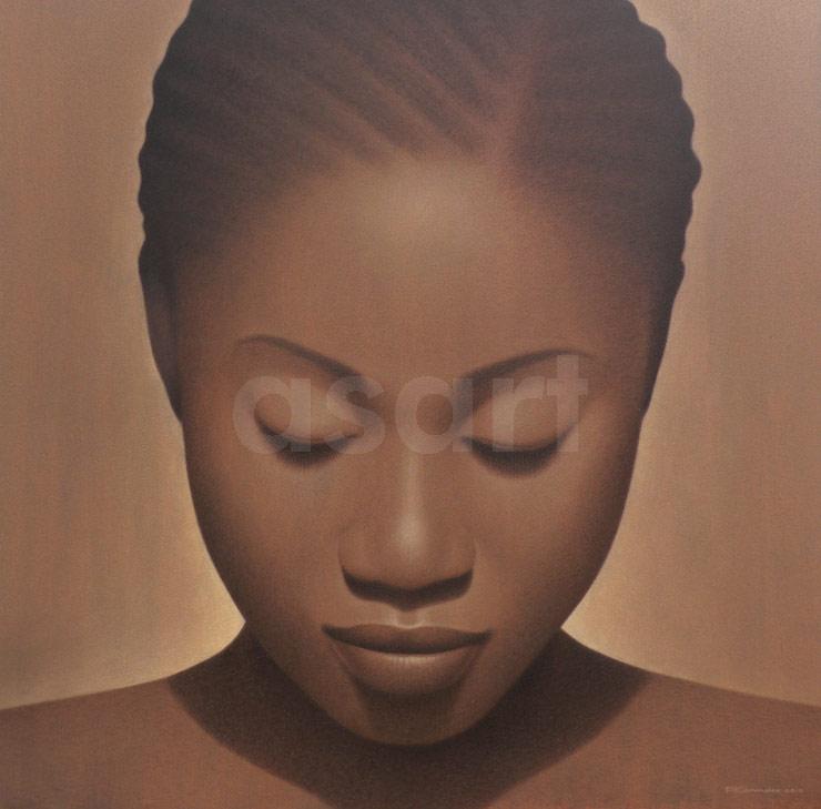 Apsara, Dusk, by Asian artist Pairoj Karndee (Thailand)