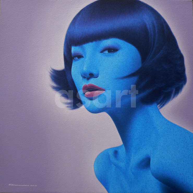 Blue for you, by Asian artist Pairoj Karndee (Thailand)