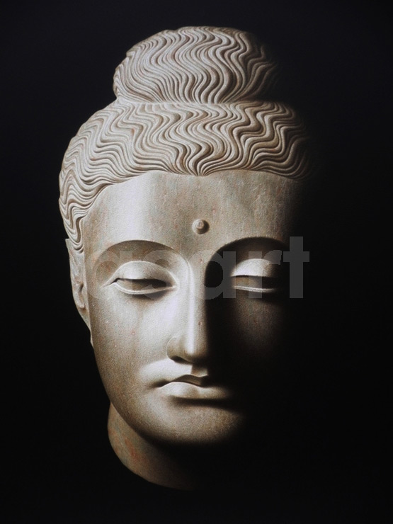 The Buddha, by Asian artist Pairoj Karndee (Thailand)