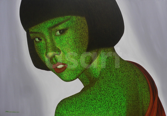 Jaded, by Asian artist Pairoj Karndee (Thailand)