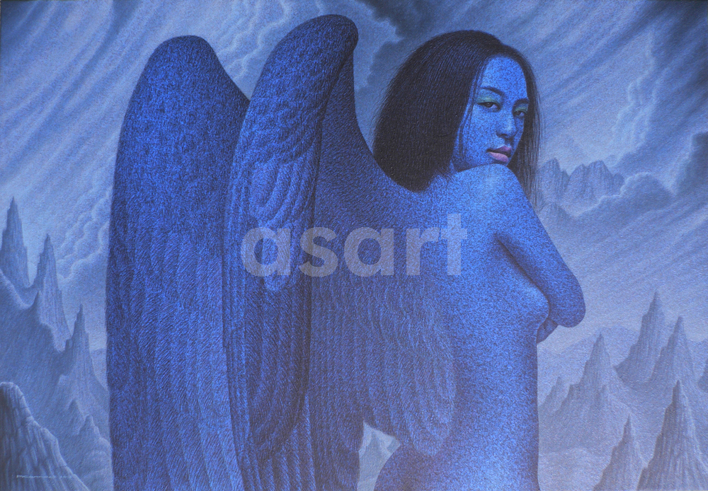 The Last Angel, by Asian artist Pairoj Karndee (Thailand)