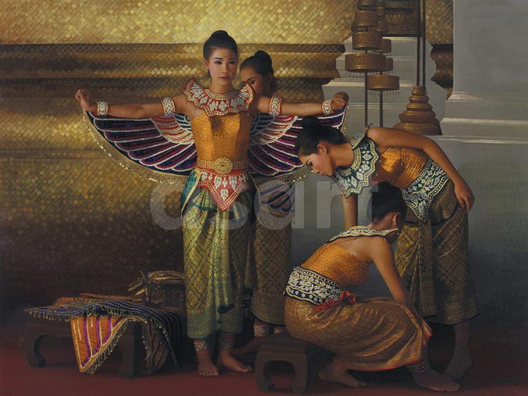 The Palace, by Asian artist Rearngsak Boonyavanishkul (Thailand)