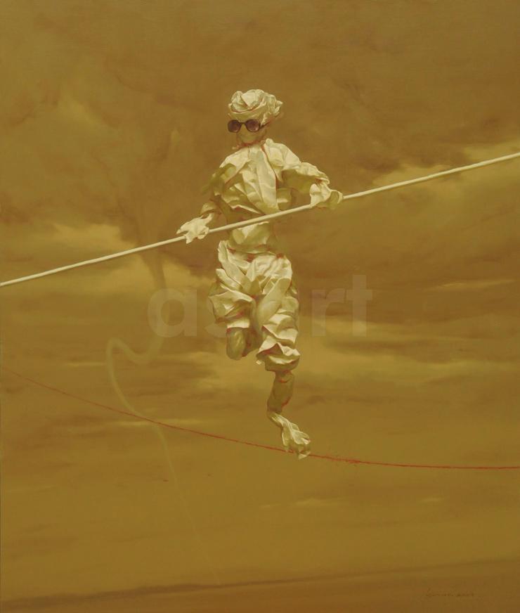 Edge of Reason #17, by Asian artist Simao (Tse Mao) Huang (China)