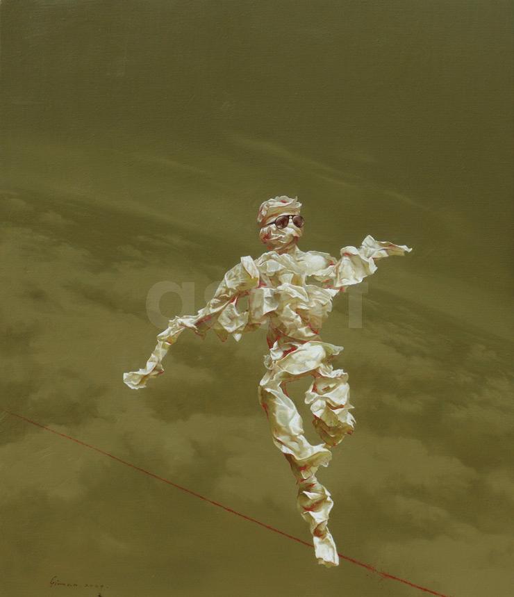 Edge of Reason #18, by Asian artist Simao (Tse Mao) Huang (China)