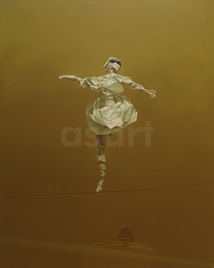 Edge of Reason #22, by Asian artist Simao (Tse Mao) Huang (China)