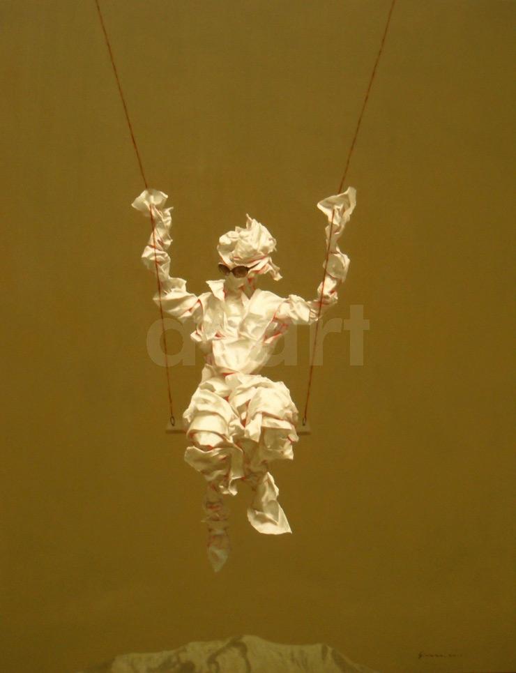 Edge of Reason #41, by Asian artist Simao (Tse Mao) Huang (China)