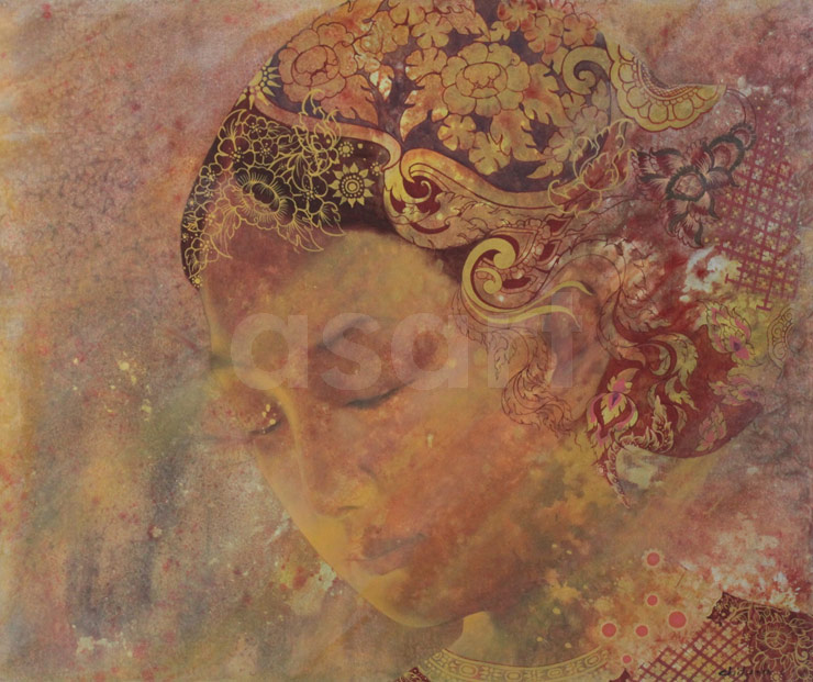 She, Apsara, by Asian artist Vichit Nongnual (Thailand)