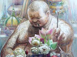 Virat Rungpayak's artwork (Thailand)
