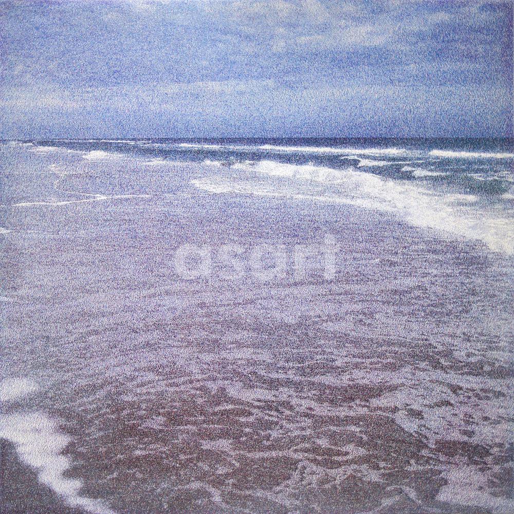 Beach, Fr Channel 2, by international artist Douglas Stewart (Canada/United States)