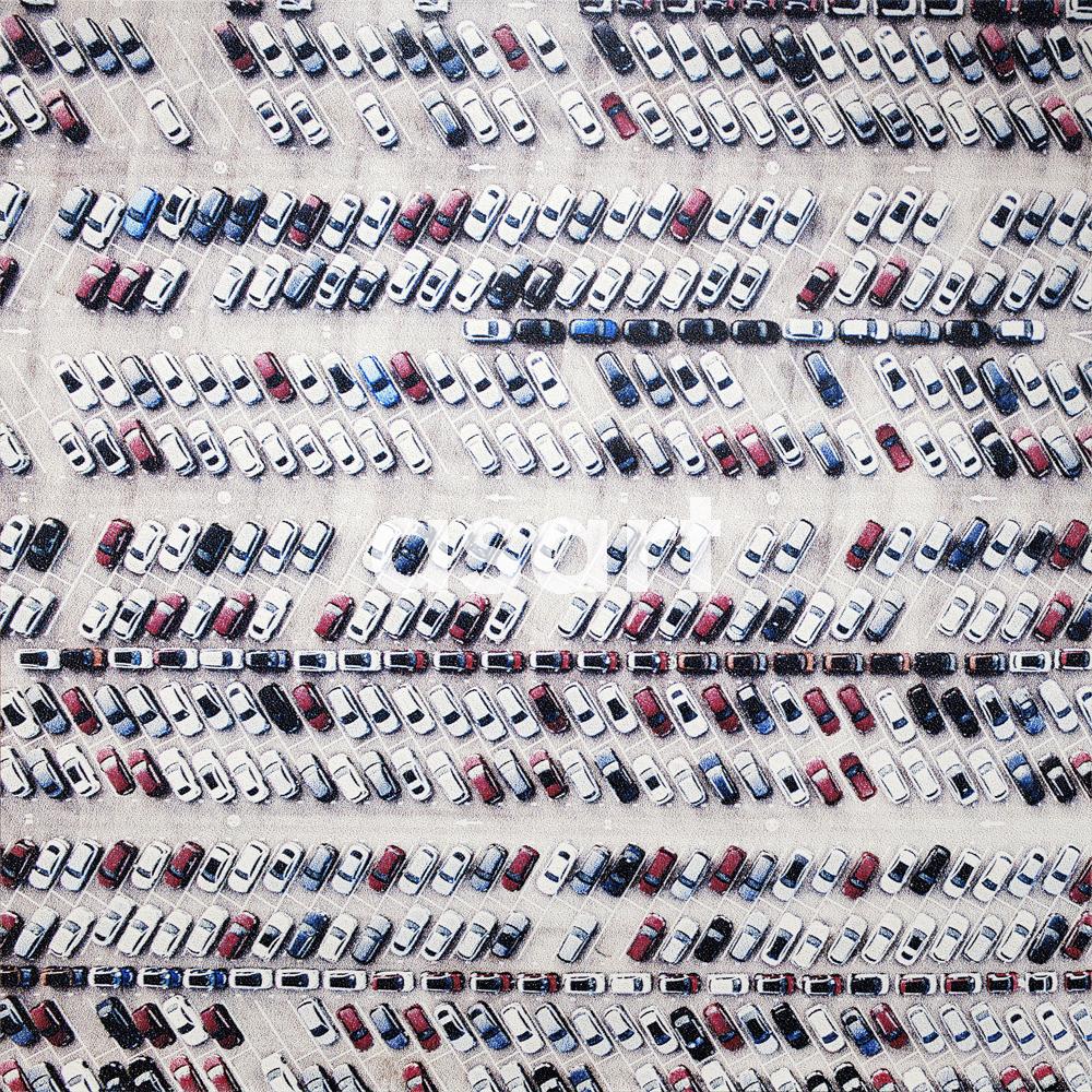 Carpark, by international artist Douglas Stewart (Canada/United States)