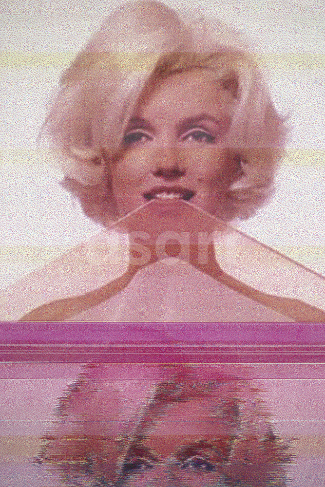 Marilyn When, by international artist Douglas Stewart (Canada/United States)