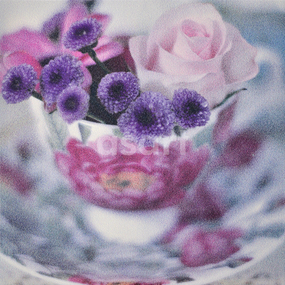 Rose Tea Cup, by international artist Douglas Stewart (Canada/United States)